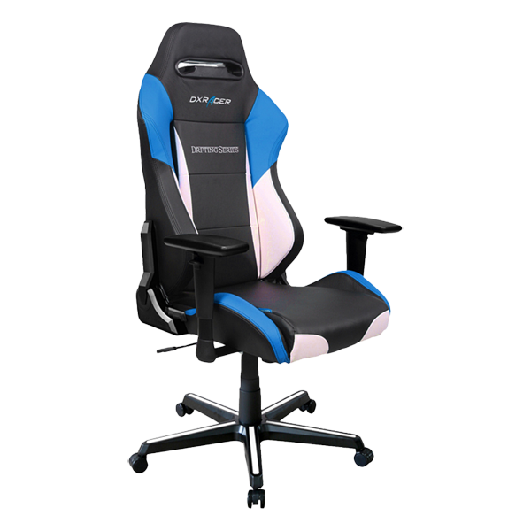 DXRacer Drifting OH/DM61/NWB Black/White/Blue фото