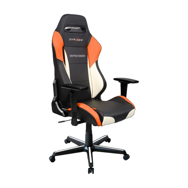 DXRacer Drifting OH/DM61/NWO Black/White/Orange фото