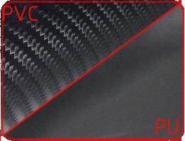 Покрытие из винила и полиуретана под карбон