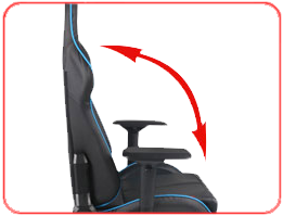 Широкий угол наклона спинки