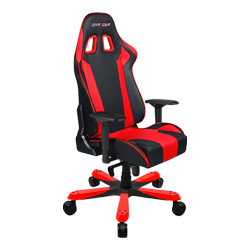 DXRacer King OH/KS06/NR Black/Red