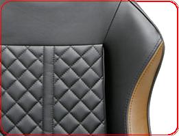 Высококачественная PU-обшивка DXRacer OHDF73NC