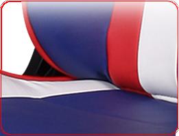 Покрытие из PU-кожи DXRacer OHFL186WR