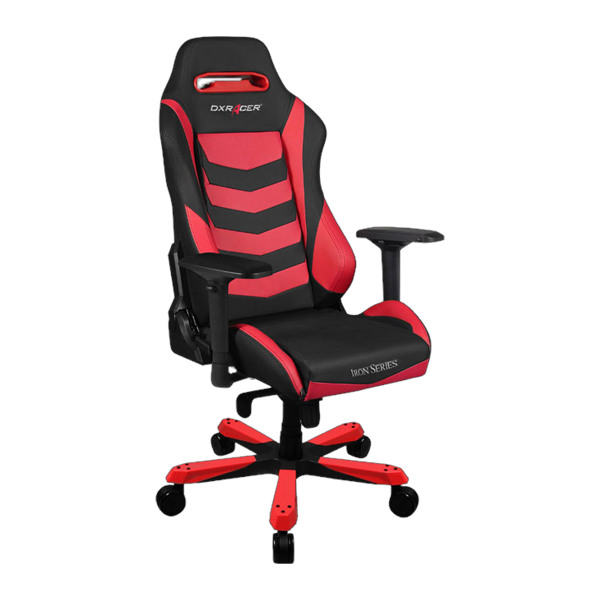 DXRacer Iron OH/IS166/NR Black/Red фото