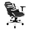 DXRacer Iron OH/IS166/NW Black/White
