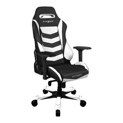 DXRacer Iron OH/IS166/NW Black/White