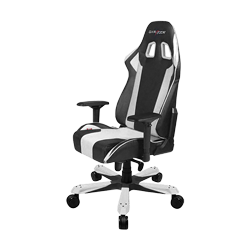DXRacer King OH/KS06/NW Black/White