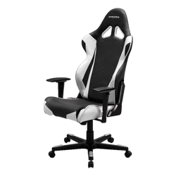 DXRacer Racing OH/RE0/NW Black/White