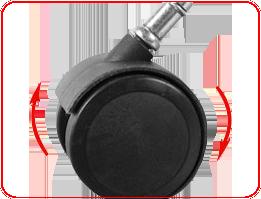 DXRacer OHRE0NW 2-дюймовые полиуретановые ролики