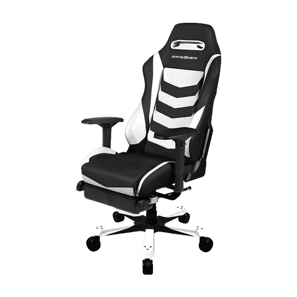 DXRacer Iron OH/IA166/NW Black/White фото