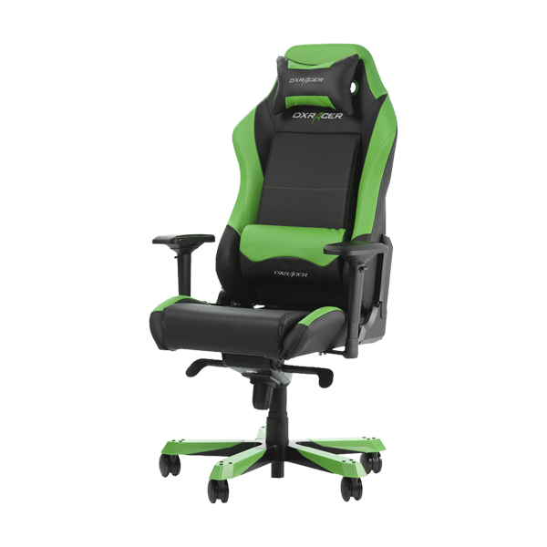 DXRacer Iron OH/IS11/NE Black/Green фото