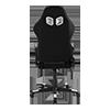 DXRacer Nex EC-O01-NW-K1-258 Black/White цена