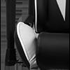 DXRacer P Series GC-P188-NW-C2-01-NVF Black/White фото