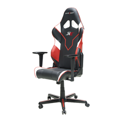 DXRacer Racing OH/RZ81/NWR Black/White/Red M19 Team